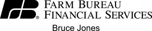 Bruce Jones Farm Bureau Logo