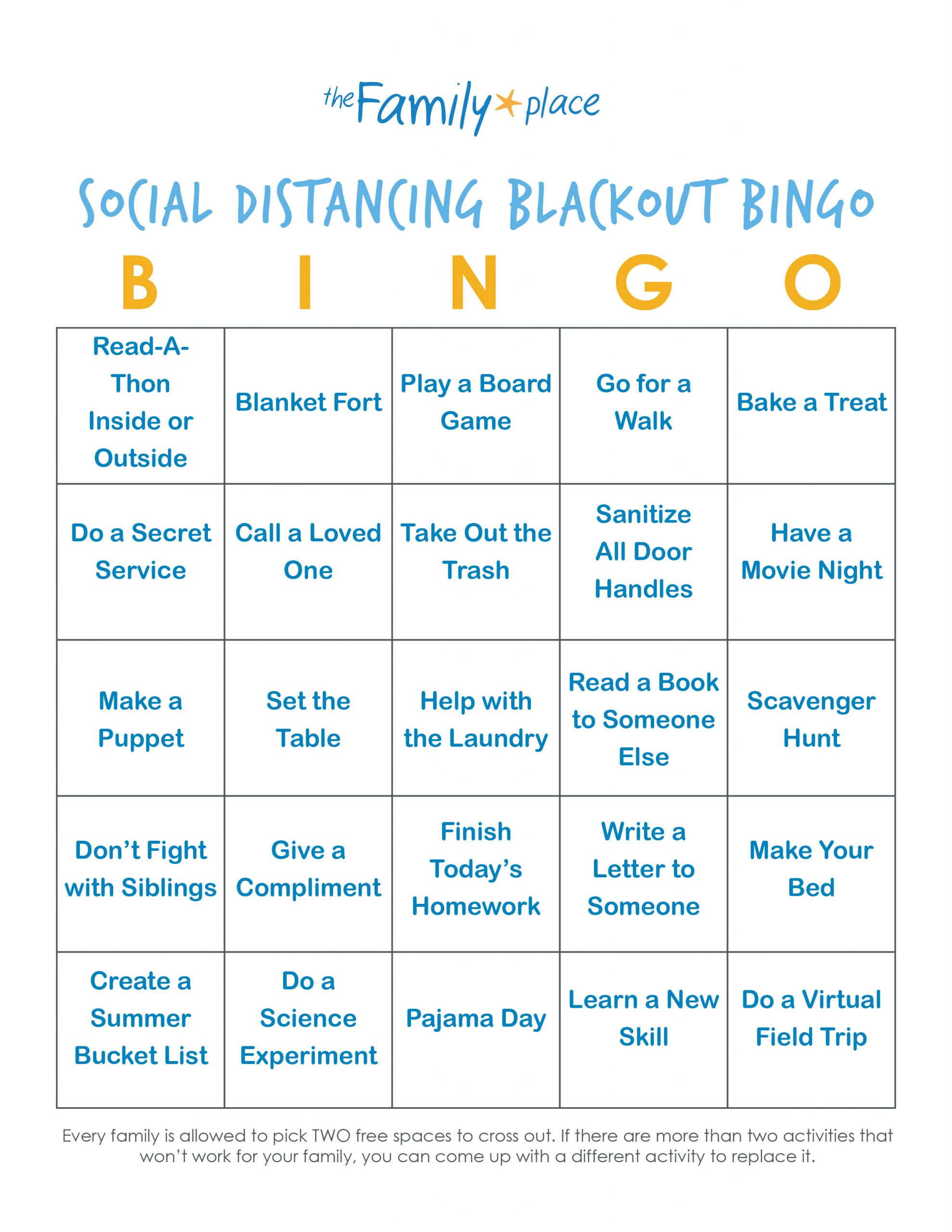 Social Bingo Game