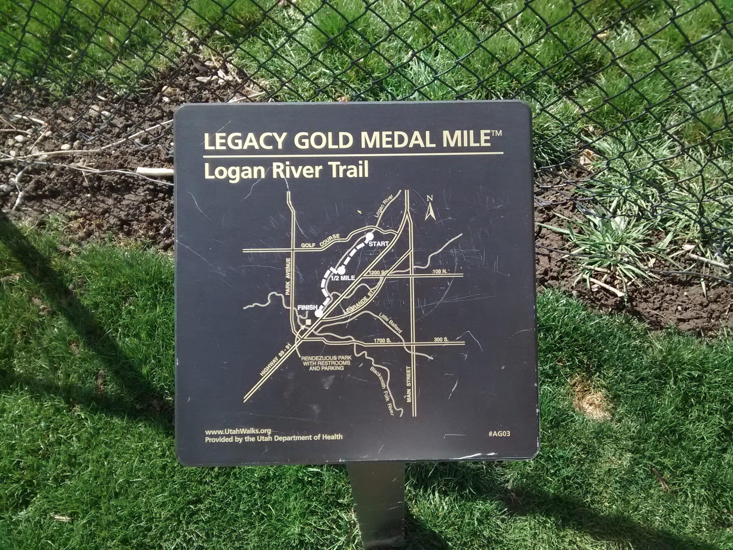 Logan River Trail Map