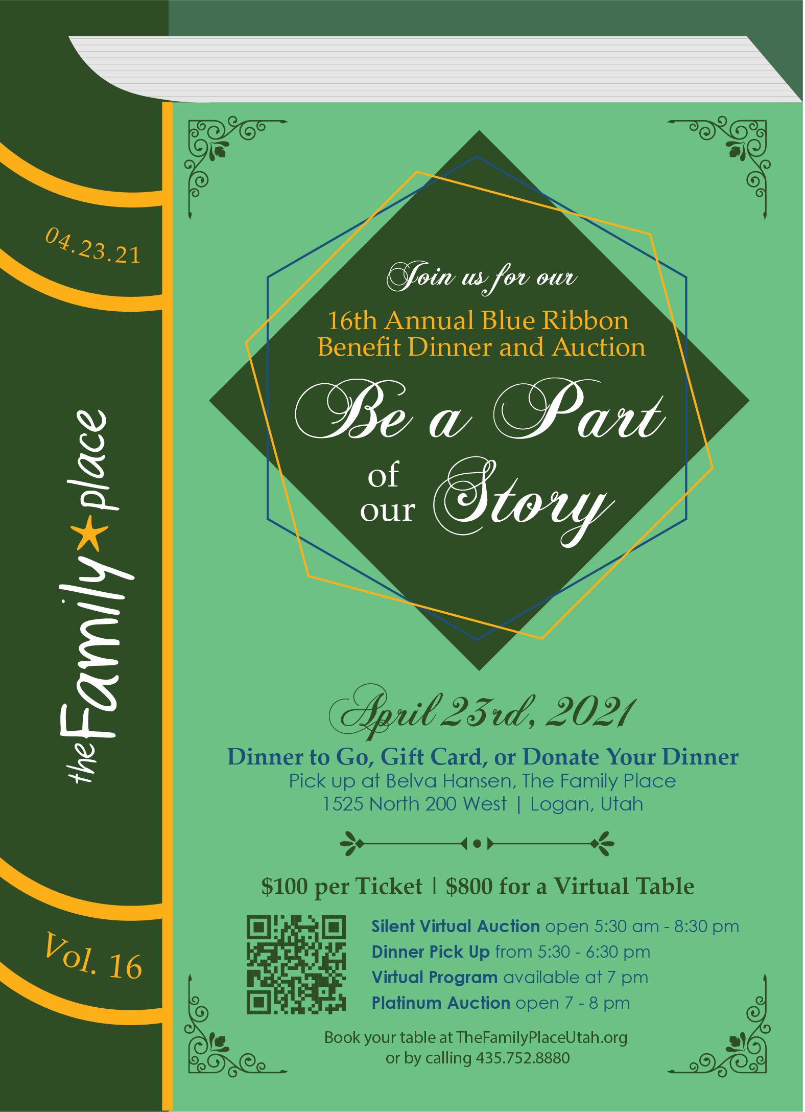 Benefit dinner to fight child abuse is this Friday