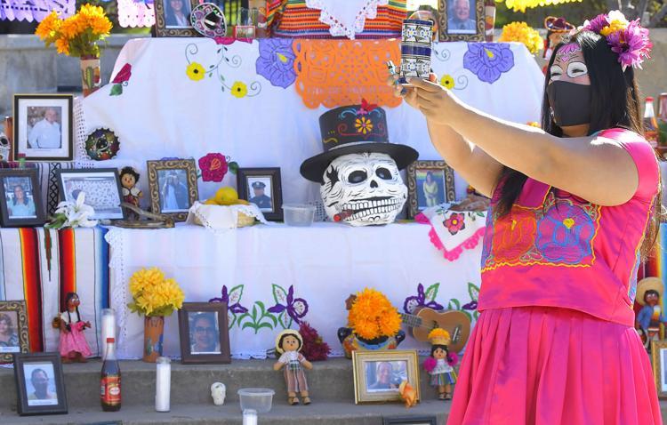 Latinx community gathers at USU to honor COVID-19 dead, celebrate life